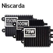 цена на Niscarda 75W 100W 150W HID Xenon Ballast H1 H3 H7 H8/H9/H11 9005/HB3 9006/HB4 Xenon Ballast Kit