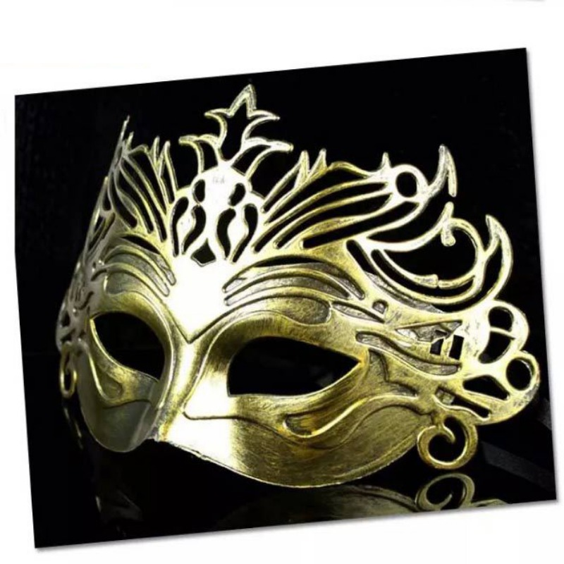 Vintage fête masque vénitien mascarade demi visage masques Halloween carnaval Cosplay Costume - 6