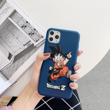 Cute Dragon Ball Z Super Son Goku Phone Case For iPhone 11