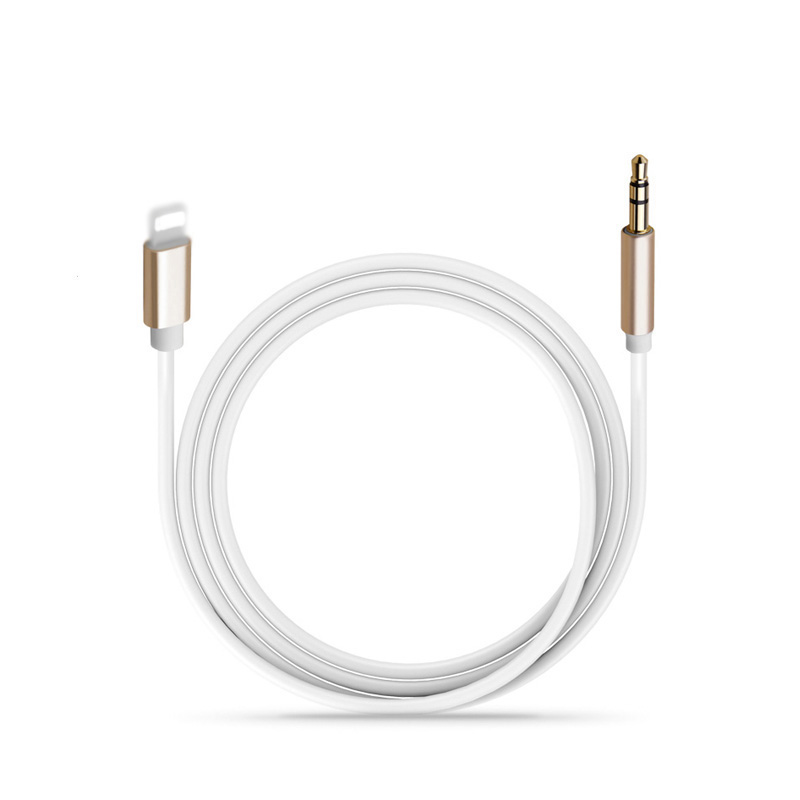 Aux Car Audio Cable Lightning To 3.5mm Jack Audio Extension Cable For IPhone 11Pro XS Max XR Xs X SE 8 7Plus Headphone Connector