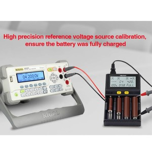 Image 5 - Оригинальное умное зарядное устройство Miboxer C4 VC4 LCD для li ion/IMR/INR/ICR/LiFePO4 18650 14500 26650 AA 3,7 1,2 В 1,5 В, аккумуляторы D4