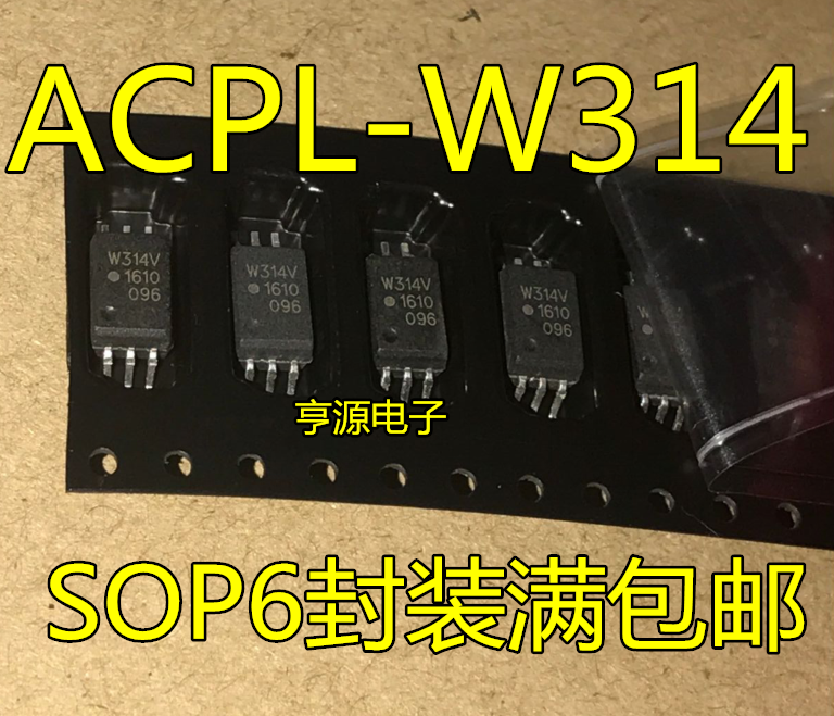 10 PCS W314 W314V ACPL - W314 SOP6 New Photoelectric Coupler Chip Foot Patch Of Light Coupling