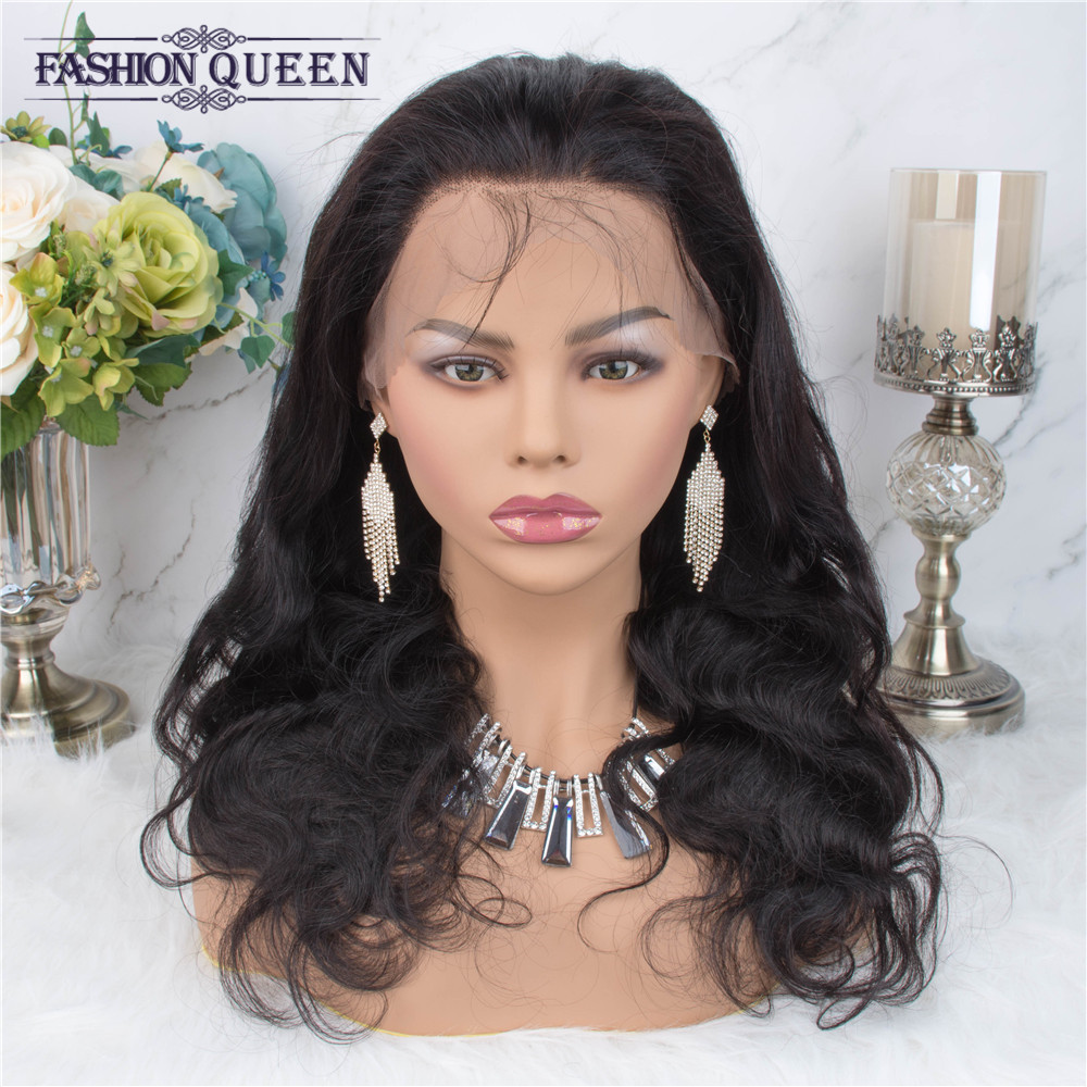 Sapphire 360 Lace Frontal Wigs Brazilian Body Wave Long Lace Frontal Human Hair Wigs Pre Plucked With Baby Hair Non Remy