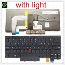 Podświetlany angielski klawiatura dla Lenovo ThinkPad A475 T470 T480 A485 FRU 01AX364 01AX405 01AX446 PN SN20L72726 PK1312D1A00 z nami