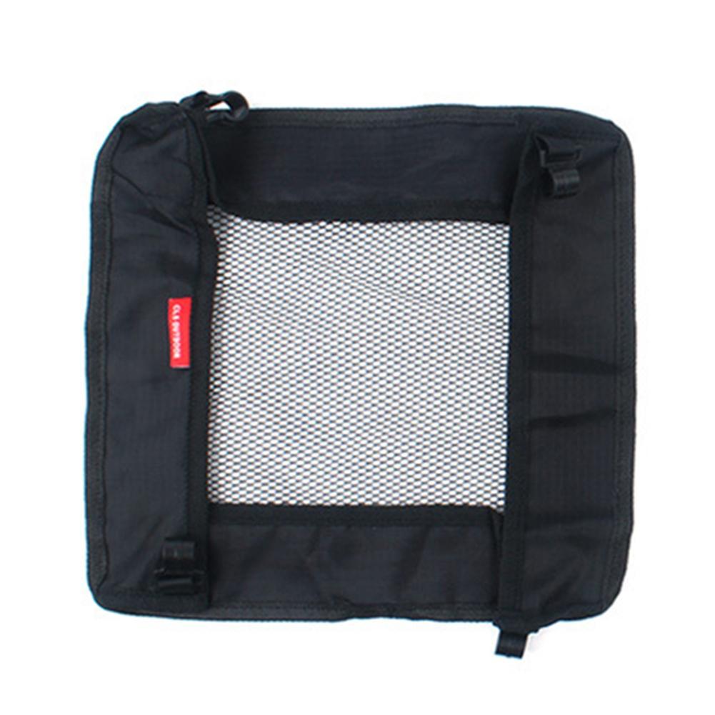 Outdoor Folding Table Storage Hanging Net Bag Picnic Camping Storage Mesh Bag Wild Rack Camping Bag Hanging Net Bag