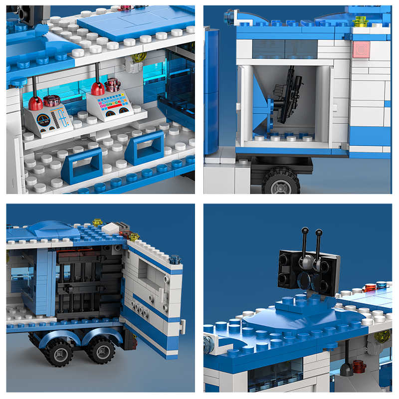 1122 Pcs military City Polizei waffe SWAT Team Lkw Bausteine Soldaten Fahrzeug Technik Steine Pädagogisches Spielzeug für Jungen