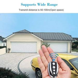 Image 4 - Mini duplicateur de télécommande automatique sans fil pour la fréquence 433.92 MHz copie télécommande A Style B pour porte de garage de voiture