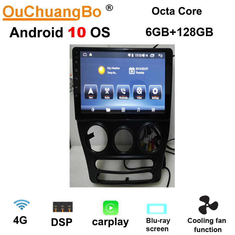 Ouchuangbo Android 10 0 Multimedia Player Radio Gps For Chery Qq 2014 2018 With Mirror Link 8 Core 6gb Ram 128gb Dsp Autoradio Car Multimedia Player Aliexpress