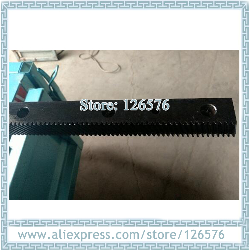 High Precision Straight Rack, Gear Rack And Pinion, Module 1.25 Rack Size 22x25x670mm