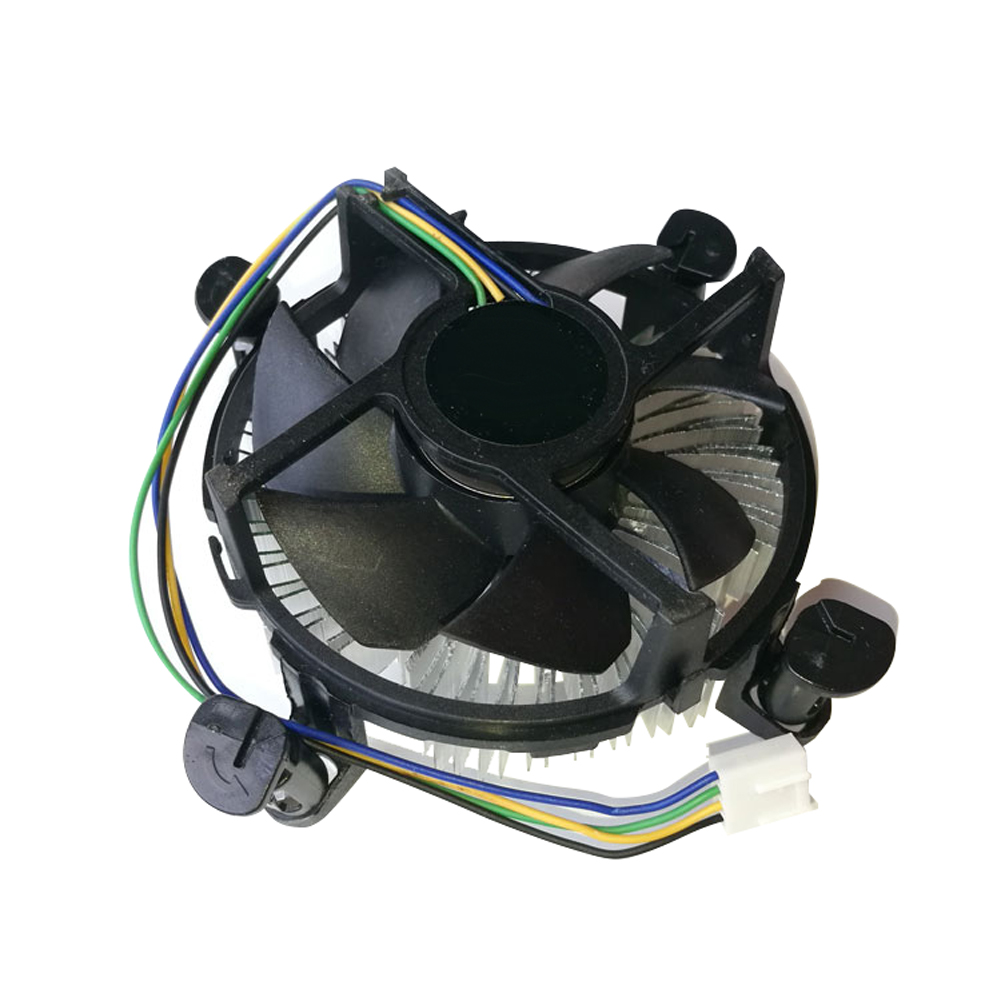 Office Quiet Computer Components CPU Fan System Aluminum Universal Useful Home Accessories Cooler Radiator Heatsink For Intel