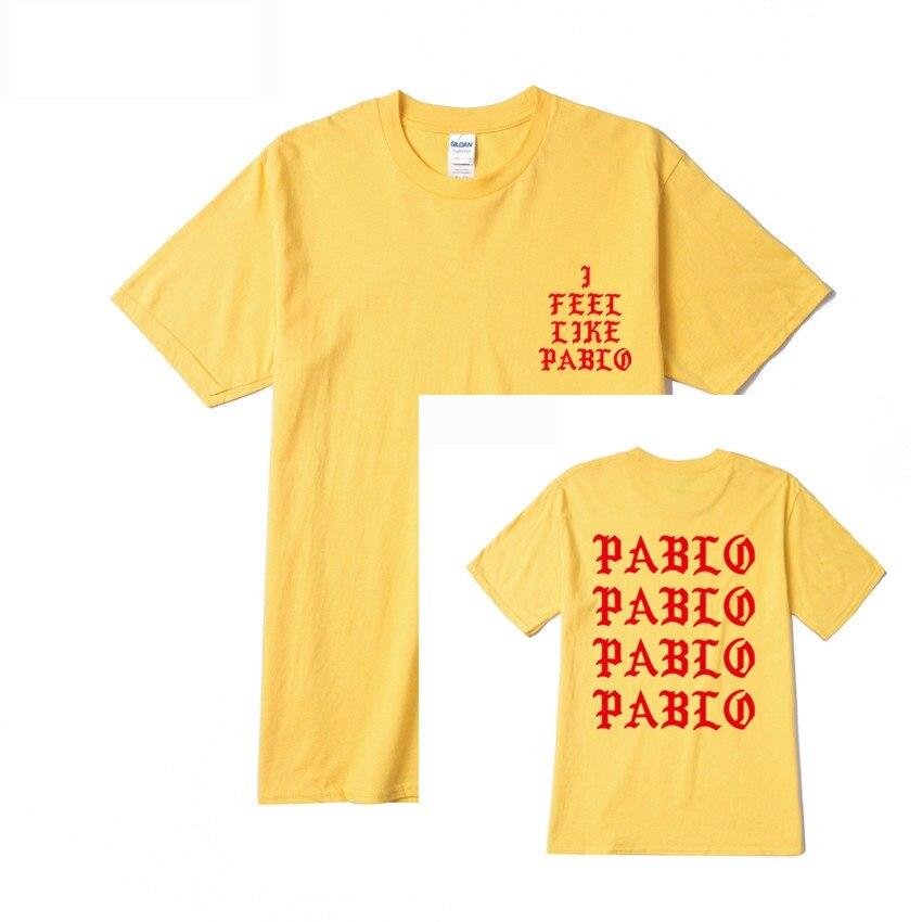 Jesus is King I Feel Like Pablo Streetwear T shirt  6