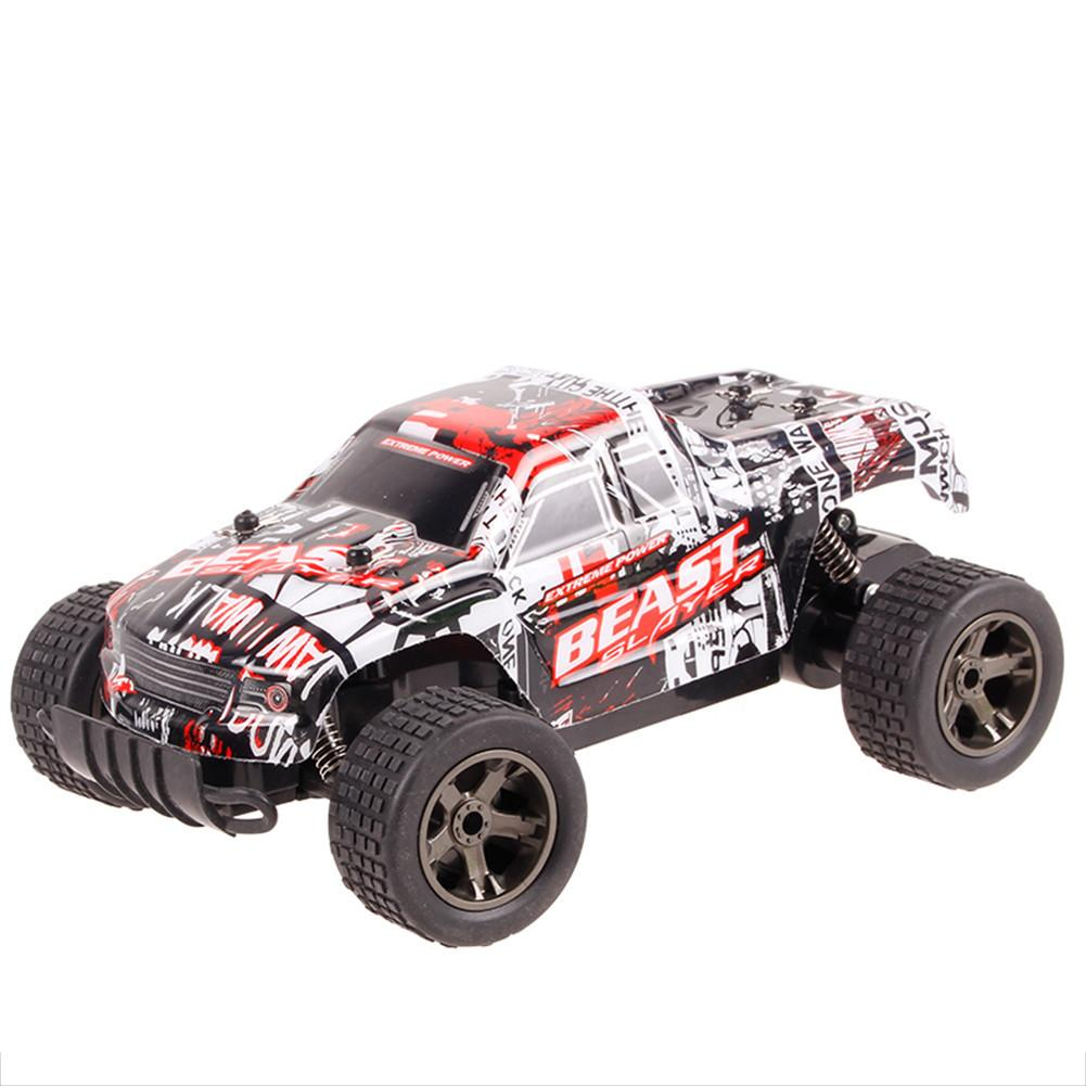 1:20 High-speed Competitive Electric 2.4Ghz Remote Control Car Shatterproof Simulated Charging Off-road Vehicle RC Racing Car