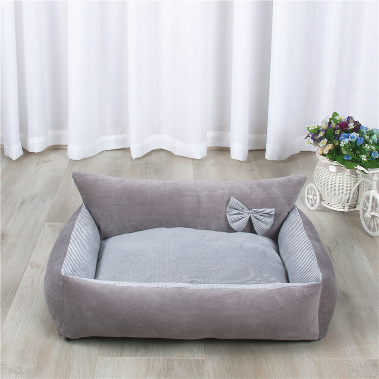 Dog Bed Warm Soft Pet Cushion For Dog Best Pet House Cat Calming Bed New Dog Bed Washable Pet Sofa Mat Dog sleeping bag 7