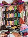 10/20/40/50 шелковая вышивка 100% шелковая нить Spiraea вышивка шелковой нитью маленькие палочки ручной вышивки крестиком
