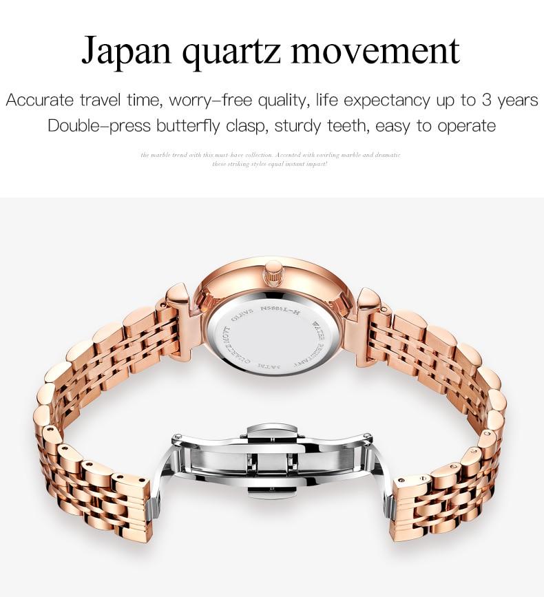 moda retro personalizado relógio de pulso de