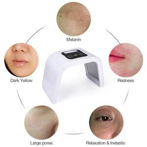 Image 3 - プロ7色pdt ledフェイスマスク光治療器締め付け機肌の若返り光子スパスキンケアツール
