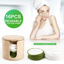 Remove-Pads Foundation Makeup Face-Cleaning Facial Reusable Eye-Shadow Eco-Friendly