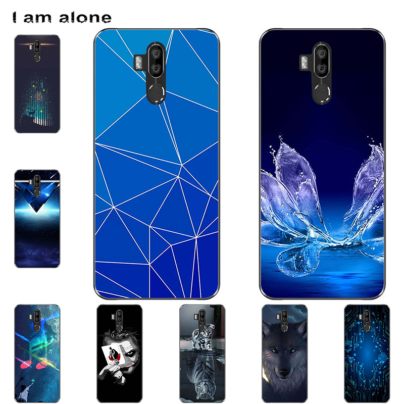 """I am alone Phone Bags For Oukitel K9 2019 7.12 inch Solf TPU Fashion Mobile Cases For Oukitel K9 2019 7.12"""" Shipping Free(China)"""