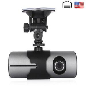 AKASO HD Car DVR Dual Lens GPS