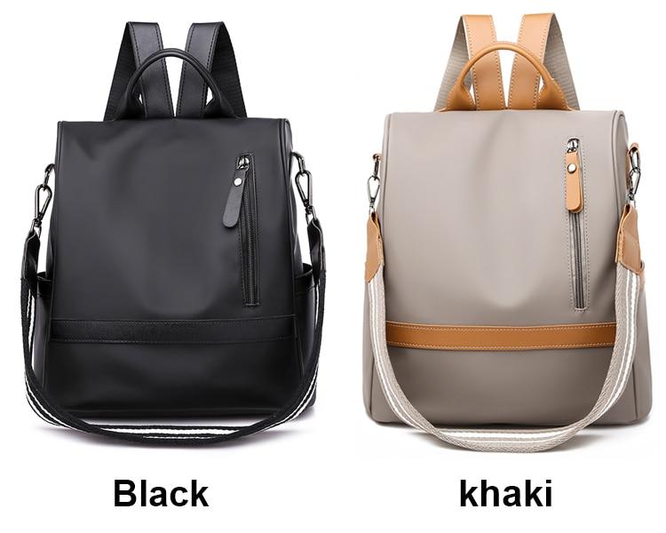 Ha02e9057e13f4fb99b99827af9963a8f2 Anti-theft women backpacks ladies large capacity backpack high quality bagpack waterproof Oxford women backpack sac a dos