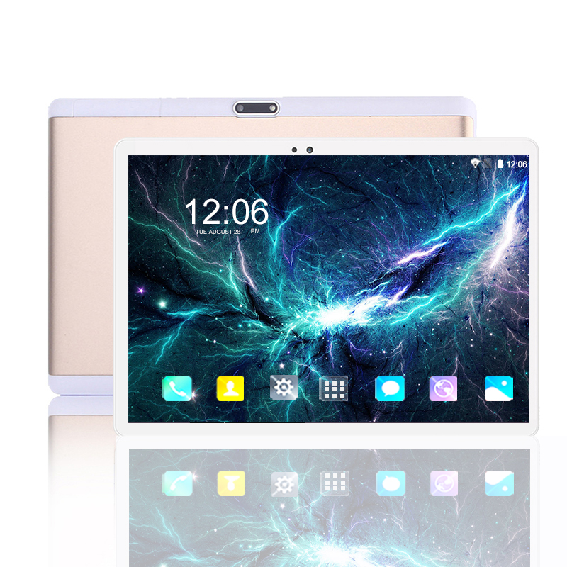 """Android 9.0 Tablet PC 10 Inch RAM 6GB ROM 128GB 10 Core 1920*1200 IPS 2.5D Tempered Screen 4G Phone Call 5G WIFI Tablets 10.1"""""""