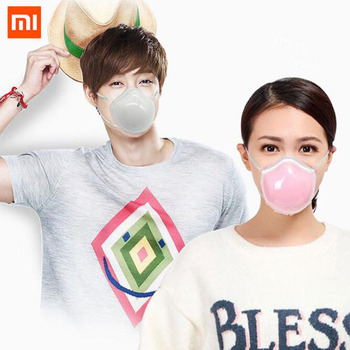 цена на In Stock Xiaomi Mijia Q7 Electric Facemasks Face Masks Provides Active Air Supply PM2.5 Filter Respirator