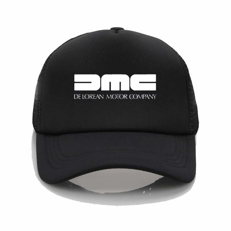 DeLorean Motor Company Baseball Cap Dad Hat DMC Baseball Cap Womens Summer Caps Snapback Hat
