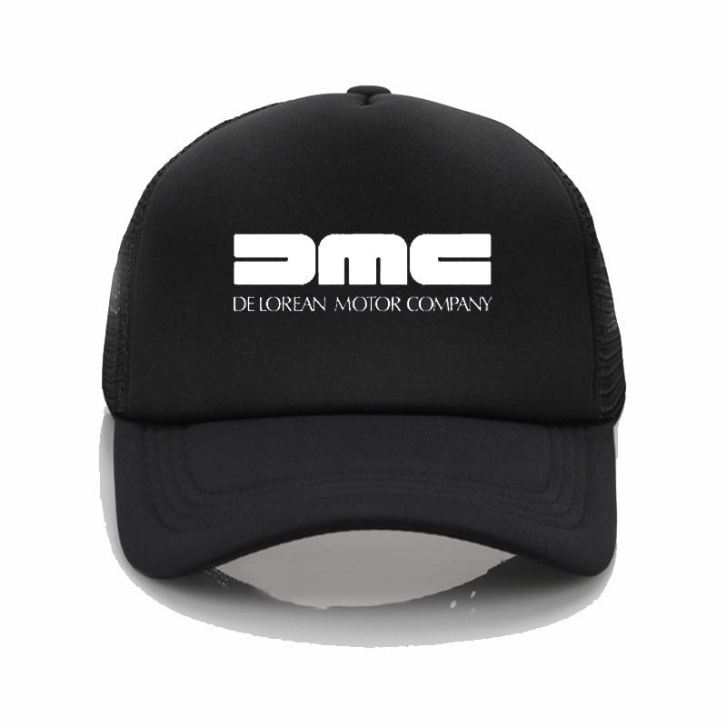 DeLorean Motor Company Baseball Cap Dad Hat DMC Baseball Cap Womens Summer Caps Snapback Hat