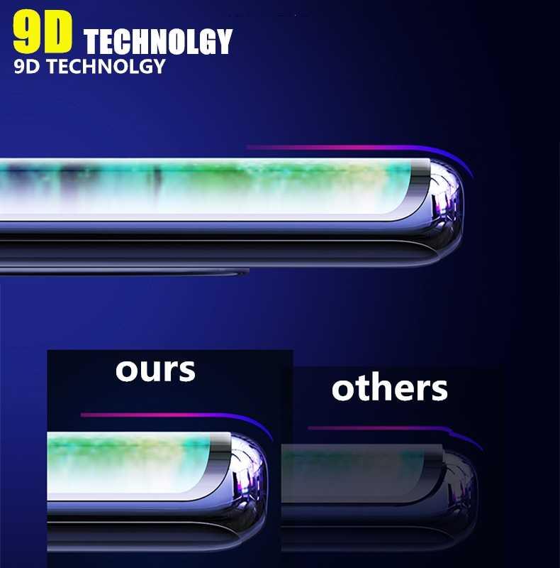 9D tam kapak temperli cam için Huawei P40 pro P40 Lite ekran koruyucu için Huawei P40 Lite E cam