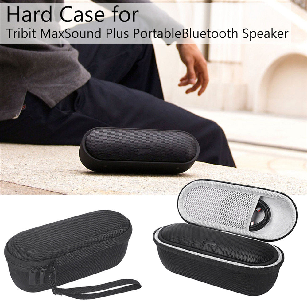Hard Carrying Case Portable Storage Bag For Tribit MaxSound Plus Portable Bluetooth Speaker Bag Water Resistance