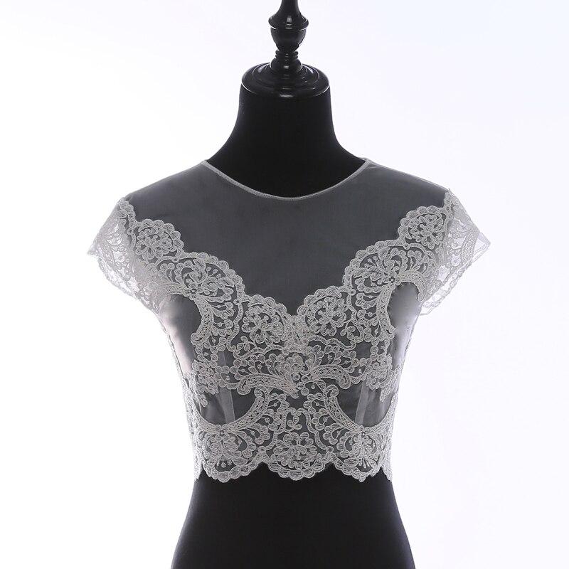 Round-collar sleevees wedding dress, Lace Shawl dress,White Bridal Shawls Bolero Lace Custom Made Bride Jacket Wrap