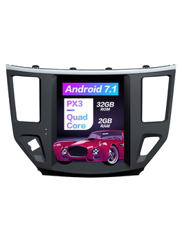 Android 7.1 Tesla style screen for Nissan Pathfinder 2012+ CAR radio Player tape recorder head unit stereo video No DVD Player