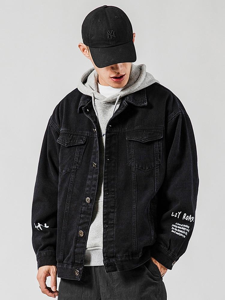 Pilot Jacket Spring Street Hip-Hop Autumn Men's 5XL Fashion Casual Large-Size New