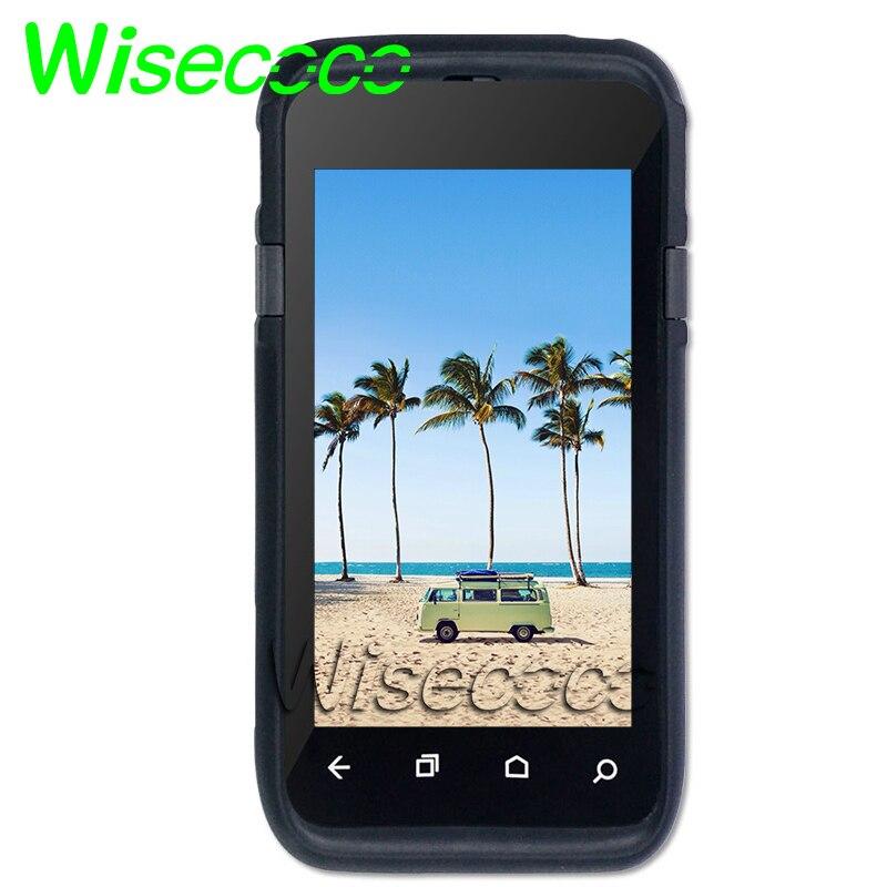 Nouvel écran LCD pour Module LCD dauphin CT50 avec numériseur d'écran tactile avec couvercle avant