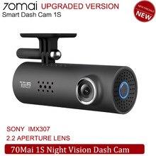 Xiaomi 70mai 1s câmera do carro 1080hd visão noturna dashcam wifi câmera 70 mai traço cam 1s sony imx323 sensor de imagem carro dvr