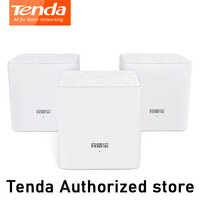 Tenda MW3 Nova Mesh Wireless Wifi Router AC1200 Dual-Band for Whole Home Wifi Coverage Mesh WiFi System Wireless Bridge Repeater
