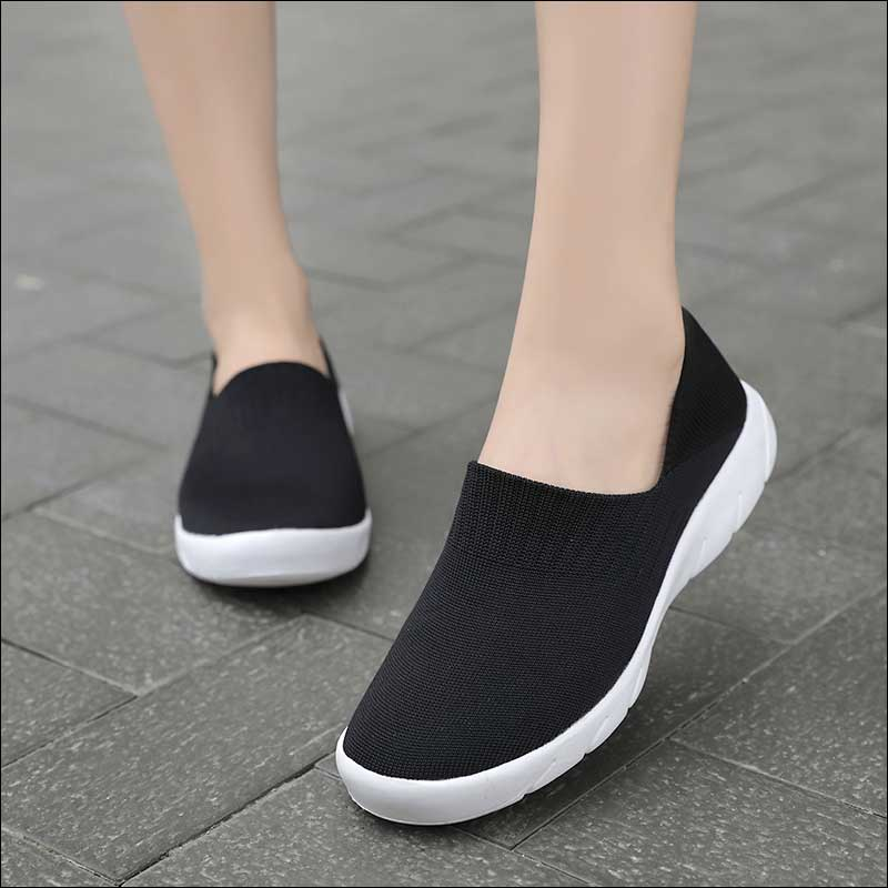 Knitting Sock Shoes Women Sneakers Womens Casual Shoe Tenis Feminino Woman Walking Shoe Moda Mujer 2020 Brand Designer Shoes