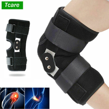 Tcare Adjustable Pressurized Knee Brace Knee Support with Side Stabilizers for Recovery Aid Patellar Tendon Arthritis Basketball