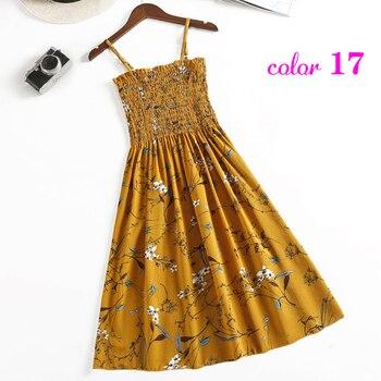 Summer Flower Chiffon Dress 4