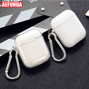 Image 1 - Transparent Soft Silicone Case For Airpods Wireless Headphone TPU For Apple Air Pods 2 Earphone Box Anti Shock Protective Cover