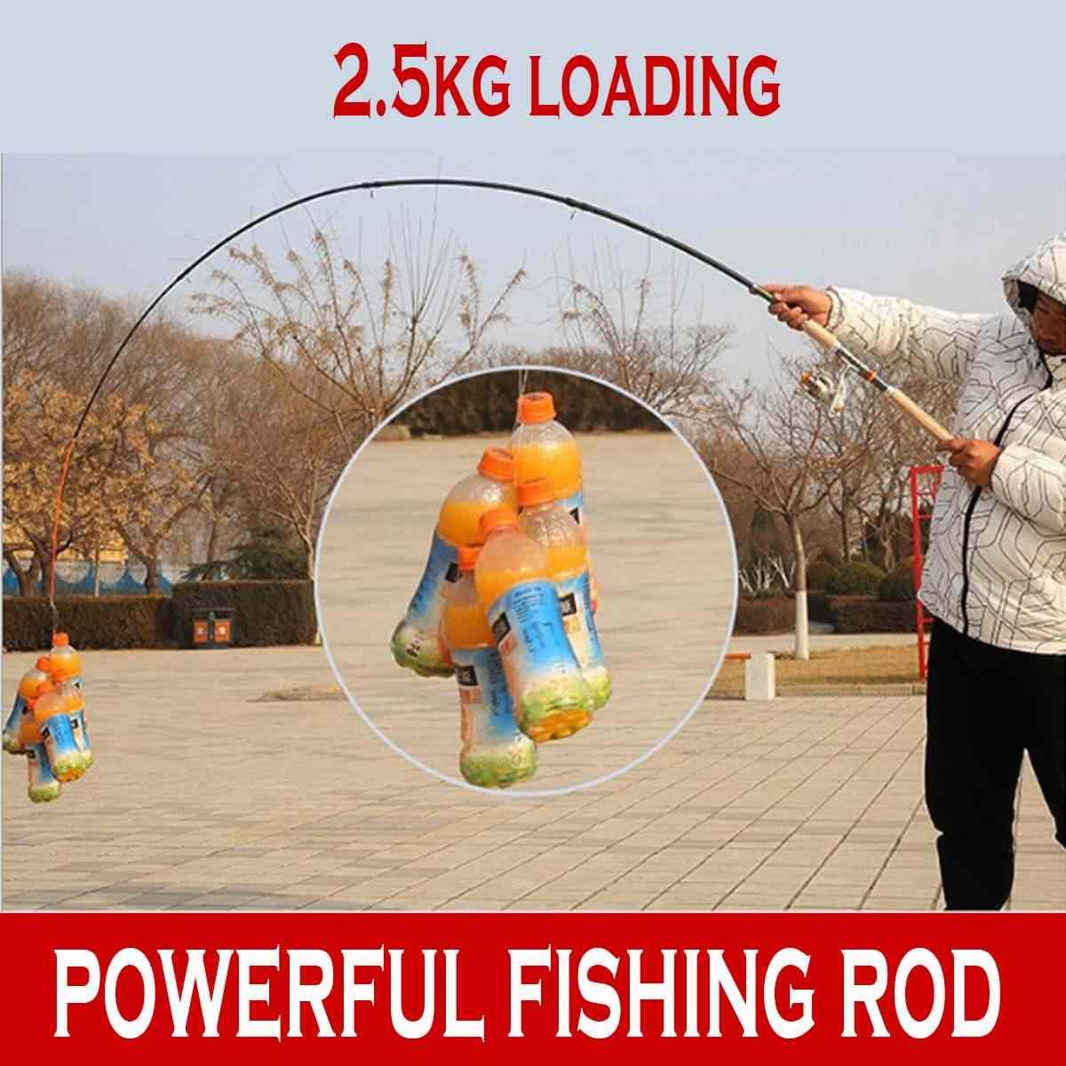 2,4m 3,0m 3,6m Casting Spinning Angelrute Tragbare Teleskop Reiserute f/ür Kajak Fishing Salzwasser alle Arten von mittelgro/ßen und gro/ßen Fischen 2,7m 2,1m