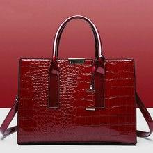 Brand female Handbag shoulder bag Luxury Alligator Composite