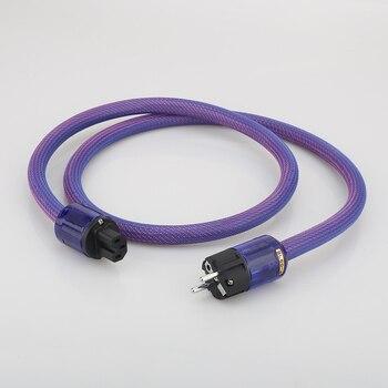 HI-End 6N Copper Audio Grade USA/Schuko Power Cable With P037 /P037E EU Power Plug Cable HIFI