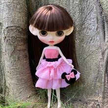 Blyth Кукла Одежда blyth наряд костюм для 1/6 bjd licca боди