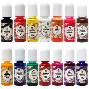 Image 1 - Newly 1Set 14 Colors Epoxy Resin Color Pigments Oily Colorants Translucent Non Toxic DIY