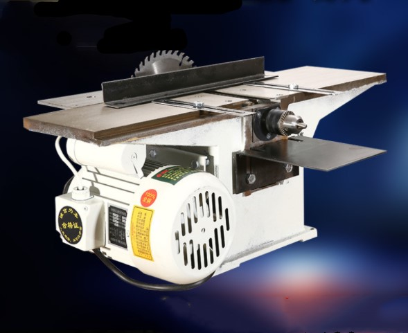220V 2500r/min Multifunctional Woodworking Saws Desktop Electric Wood Planer Machine  And 1.3KW Motor