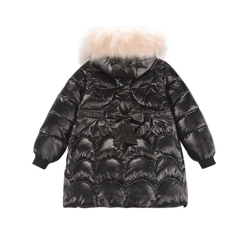moda mid-length arco para baixo jaqueta para