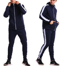 Zipper Hoodie + pants suit 2-piece casual sportswear in spring and Autumn