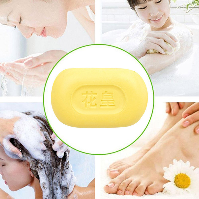 New Hot 85g Sulphur Soap Skin Care Dermatitis Fungus Eczema Anti Bacteria Fungus Shower Bath Whitening Soaps SMR88