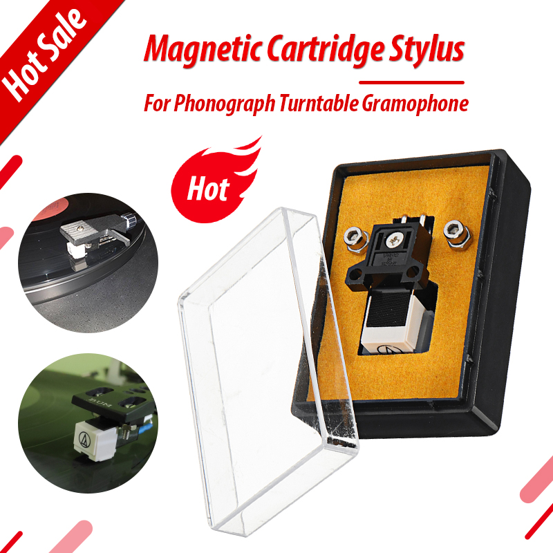 Magnetic Cartridge Stylus With LP Vinyl Needle For Turntable Record Player High Quality For Platenspeler Record Player